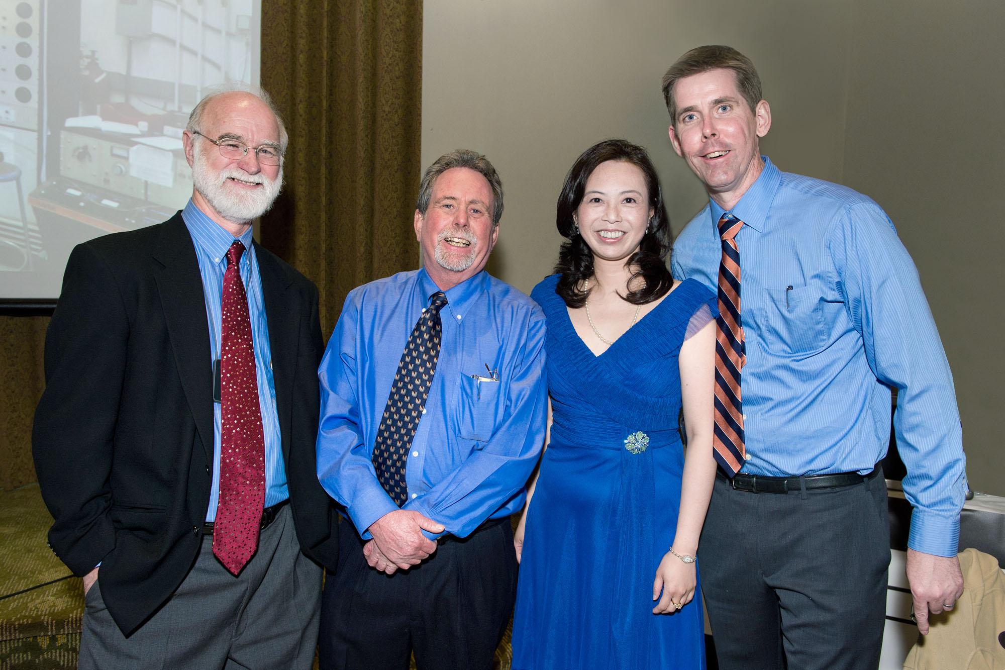 Tom, Moe, Kay, Will at BBI 40th
